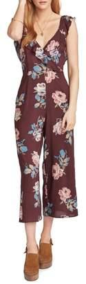 Show Me Your Mumu Chocolate & Roses Crop Jumpsuit