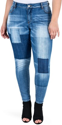 Standards & Practices Isabel Colorblock Skinny Jeans