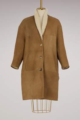 Etoile Isabel Marant Lamb Alan coat