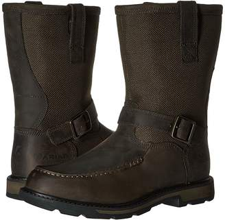 Ariat Groundbreaker Moc Toe H2O Men's Work Pull-on Boots