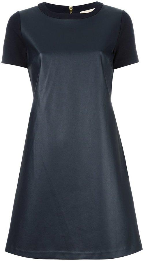 MICHAEL Michael KorsMichael Kors bi-texture T-shirt dress