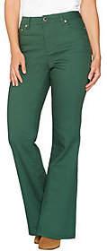 C. Wonder Petite 5- Pocket Flare Leg Jeans