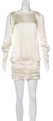 Pierre Balmain Silk Mini Dress
