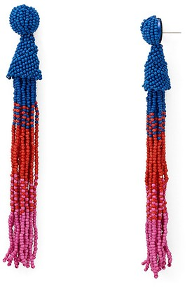 AQUA Marylse Ombré Tassel Earrings - 100% Exclusive $28 thestylecure.com