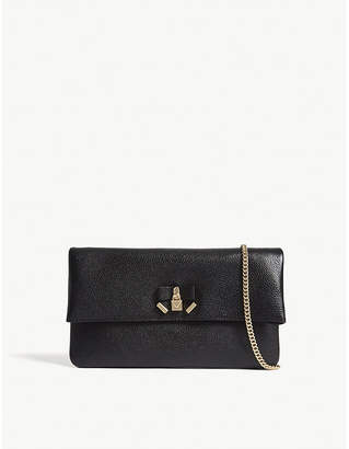 MICHAEL Michael Kors Everly leather clutch bag