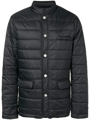 Eleventy press stud padded jacket