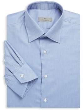 Canali Solid Dress Shirt