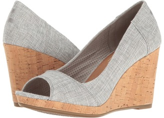 TOMS - Stella Wedge Women's Wedge Shoes $79 thestylecure.com