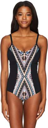 Seafolly Women's Indian Summer Dd Cup Maillot One Piece Swimsuit