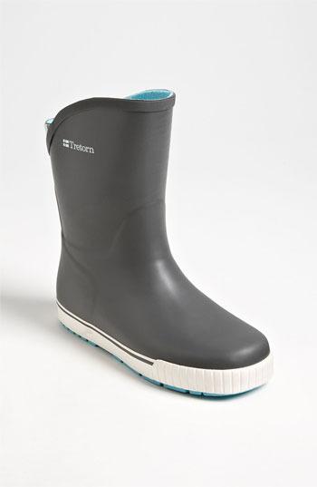Tretorn 'Skerry Svinga' Rain Boot Womens Gunmetal Size 38 EU 38 EU