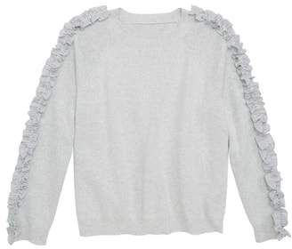 Tucker + Tate Ruffle Sleeve Sweater