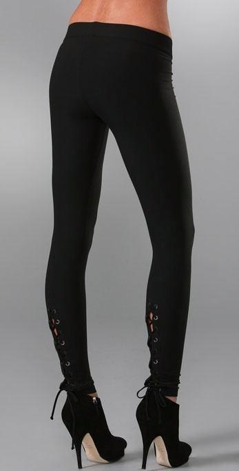 Juicy Couture Lace Up Leggings