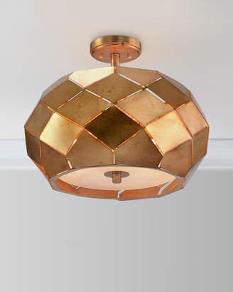 John-Richard Collection Origami Semiflush Chandelier Light