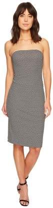 Nicole Miller Strapless Tube Dress Women's Dress