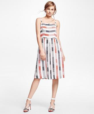 Cotton Printed Dress $158 thestylecure.com