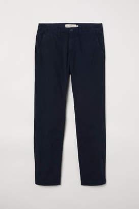 H&M Cotton Chinos - Blue