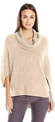 Design History Women's Cable Poncho $68.55 thestylecure.com