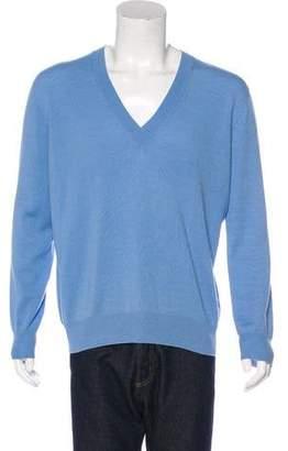 Tomas Maier Cashmere V-Neck Sweater