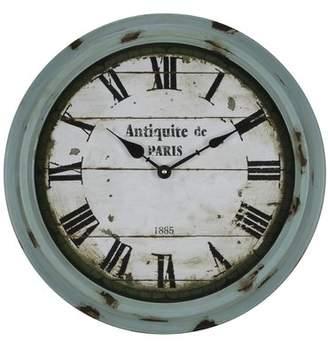 Cooper Classics 16.75 Anthea Wall Clock