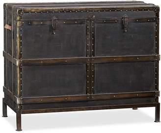 Pottery Barn Ludlow Trunk Bar Cabinet