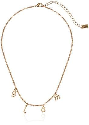 """Steve Madden Glam"""" Rolo Lobster Claw Necklace"""