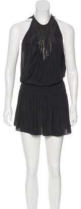 Ramy Brook Sleeveless Pleated Dress