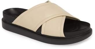 Vagabond Erin Cross Strap Slide Sandal