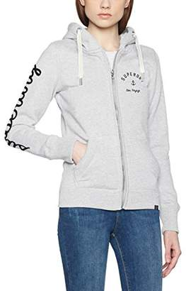 Superdry Women's Hoodie Jacket,(Manufacturer Size: Medium)