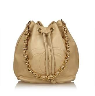 Chanel Vintage Lambskin Timeless Shoulder Bag