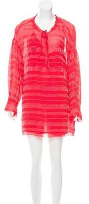 IRO Long Sleeve Knit Dress