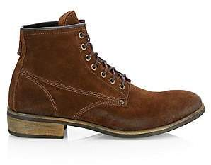 Saks Fifth Avenue Men's COLLECTION Distressed Suede Boots