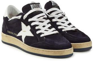 Golden Goose Ball Star Suede Sneakers