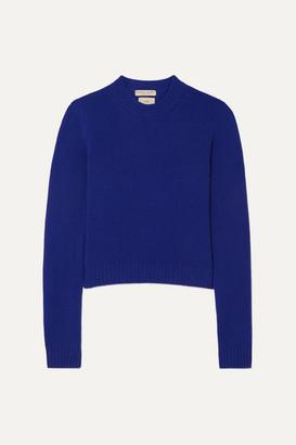 Bottega Veneta Cashmere-blend Sweater - Blue