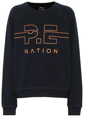P.E Nation Swingman cotton sweatshirt