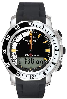Tissot Men's Sea-Touch in Meters Sport Watch, 44.4mm