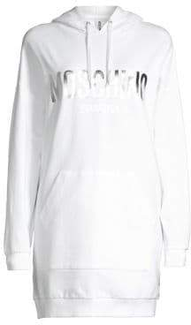 Moschino Logo Sweatshirt Dress