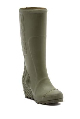 Sorel Joan Tall Wedge Waterproof Rain Boot