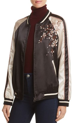 Cotton Candy LA Embroidered Bomber Jacket $98 thestylecure.com