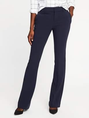 Old Navy Mid-Rise Slim Flare Harper Full-Length Pants for Women