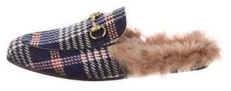 Gucci Princetown Horsebit Slippers