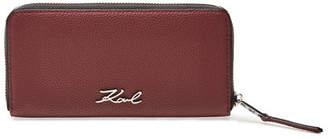 Karl Lagerfeld K/Karry Leather Wallet