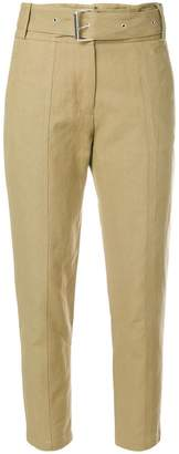 IRO belt cropped trousers