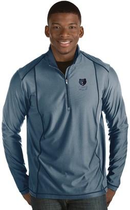 Antigua Men's Memphis Grizzlies Tempo Quarter-Zip Pullover