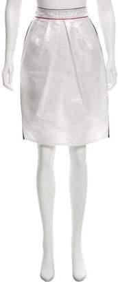 Dolce & Gabbana Single Pleat Knee-Length Skirt