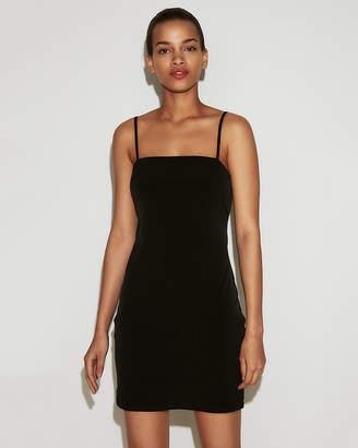 Express Cut-Out Tie Back Mini Sheath Dress