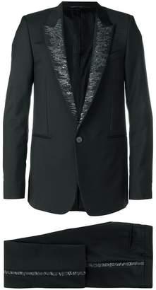 Givenchy sequin lapel suit