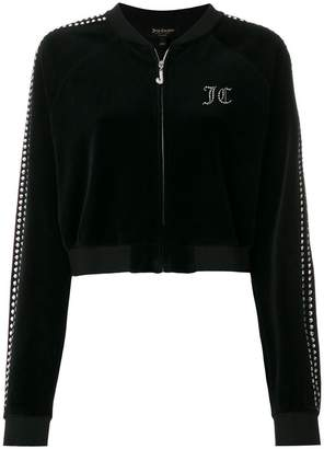 Juicy Couture embellished crop jacket
