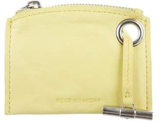 Reed Krakoff Leather Coin Pouch