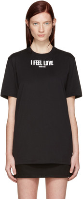 Givenchy Black 'I Feel Love' T-Shirt $440 thestylecure.com