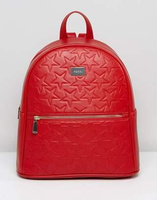 Marc B Star Embossed Backpack